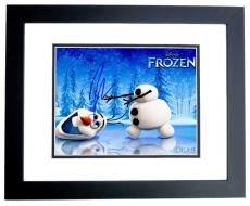 Josh Gad Signed - Autographed FROZEN 8x10 inch Photo BLACK CUSTOM FRAME - Guaranteed to pass PSA or JSA - Actor who played Olaf