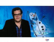 Josh Gad Signed Frozen Authentic Autographed 8x10 Photo PSA/DNA #AC55823