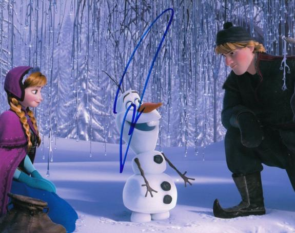 JOSH GAD signed (FROZEN) MOVIE autographed 8X10 photo W/COA *OLAF* #2