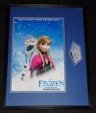 Josh Gad Voice of Olaf Frozen Signed Framed 18x24 Photo Poster Display AW