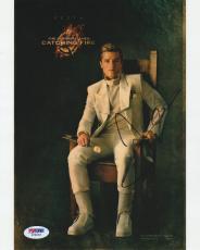 Josh Hutcherson Signed Auto'd 8x10 Photo Psa/dna Coa Z78263 Hunger Games Peeta