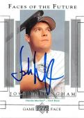 Josh Willingham autographed baseball card (Florida Marlins FT) 2003 Upper Deck #144 Faces of the Future