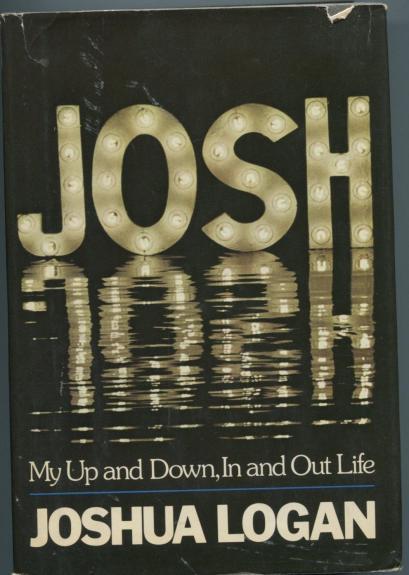 Joshua Logan Josh Pulitzer Winner Signed Autograph 1st Edition Book