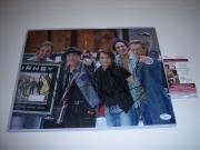 Journey Neal Schon,cain,vallory,pineda,castronovo Jsa/coa Signed 11x14 Photo