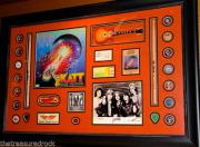 Journey signed autographed ESCAPE record LP STEVE PERRY vintage PSA DNA guitar