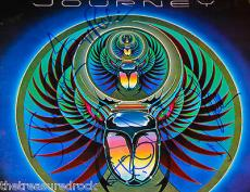 JOURNEY signed poster ALL ORIGINAL MEMBERS Steve Perry CAPTURED PSA DNA RARE