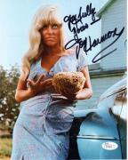 JOY HARMON HAND SIGNED 8x10 COLOR PHOTO      SEXY COOL HAND LUKE POSE      JSA