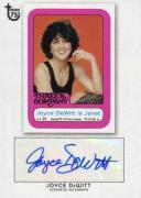 Joyce DeWitt 2013 Topps 75th Authentic Autograph Card