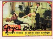 "JOYCE DEWITT as JANET WOOD in ""THREE'S COMPANY"" (TV Series 1977-84) Signed 1978 Card"