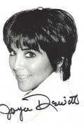 "JOYCE DEWITT as JANET WOOD in ""THREE'S COMPANY"" (TV Series 1977-84) Signed 4x6 Photo"