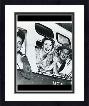 Joyce Randolph Autographed 8x10 Photo