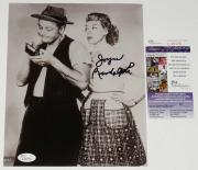 Joyce Randolph Autographed 8x10 Photo (the Honeymooners) W/ Proof! - Jsa Coa!