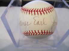 JSA Authentic W/ Full Letter Signed James Earl Jones Star Wars M.L.B.  Baseball