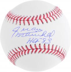 Juan Marichal Autographed Baseball with HOF 83 Inscription