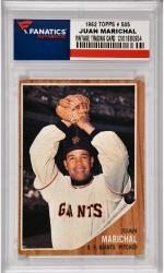 Juan Marichal San Francisco Giants 1962 Topps #505 Card