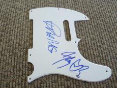 Judas Priest Rob Halford & Glenn Tipton Signed  Guitar Pickguard PSA Guaranteed