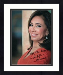 Judge Jeanine Pirro Signed Autograph 8x10 Photo Fox News Donald Trump Supporter