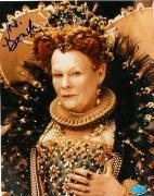 Judi Dench autographed 8x10 Photo (Shakespeare in Love- Academy Award Winner)