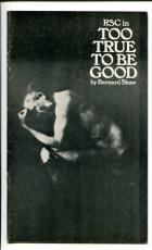 Judi Dench Ian McKellen Ken Waynne Too True To Be Good British Playbill