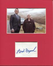 Judi Dench James Bond M Oscar Winner Rare Signed Autograph Photo Display