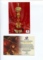 Judi Dench James Bond Shakespeare in Love Oscar Winne Signed Autograph Photo COA