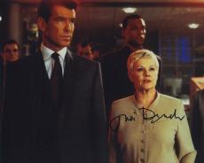 Judi Dench Signed Autographed Color 8x10 James Bond Photo