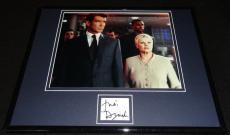 Judi Dench Signed Framed 11x14 Photo Display James Bond C