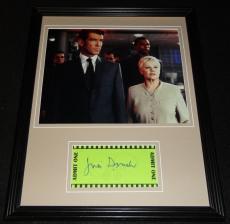 Judi Dench Signed Framed 11x14 Photo Display James Bond F