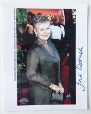 Judi Dench Signed James Bond Authentic 8x10 Photo (PSA/DNA) #J64594