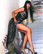 Judith Judi Shekoni SIGNED 8x10 Photo Zafrina Twilight Saga PSA/DNA AUTOGRAPHED