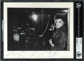 "Judy Garland The Wizard Of Oz ""Thank You"" Signed 8x10 Photo BAS Slab"