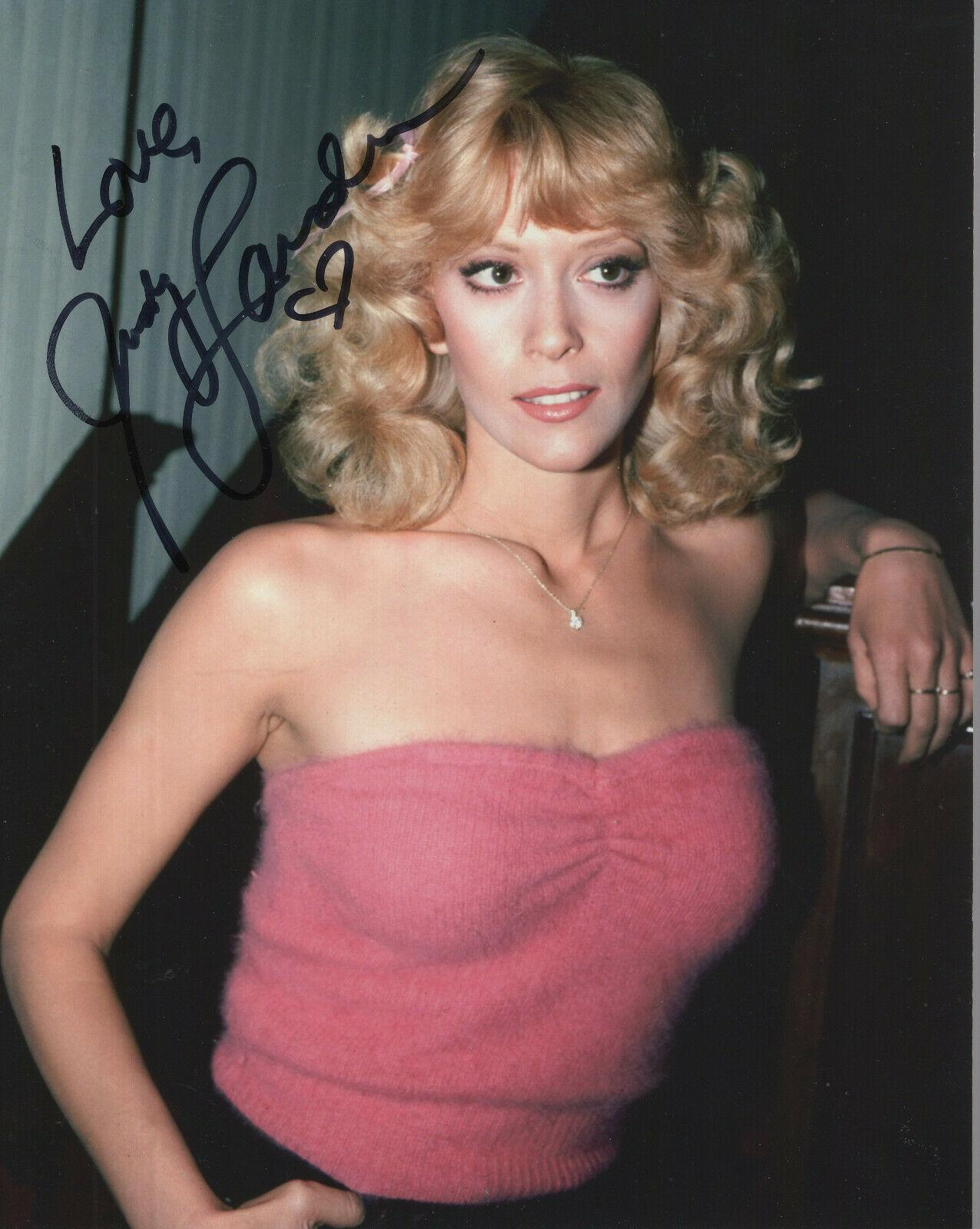 JUDY LANDERS HAND SIGNED 8x10 COLOR PHOTO+COA GORGEOUS ...