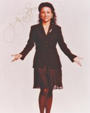 Julia Louis Dreyfus Autographed Seinfeld Actress 8x10 Photo - Julia Louis-Dreyfus