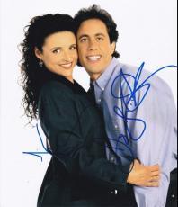 Julia Louis Dreyfus Jerry Seinfeld Signed 8x10 Photo Authentic Autograph Coa