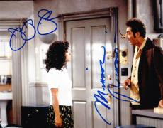 Julia Louis-dreyfus Michael Richards Signed 8x10 Photo Seineld Autograph Coa