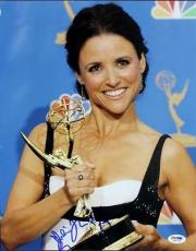 Julia Louis-dreyfus Seinfeld Signed 11x14 Photo Psa/dna #s80534