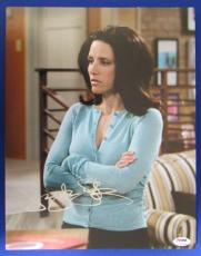Julia Louis-Dreyfus Signed Auto Autograph 11x14 Photo PSA/DNA Z97809