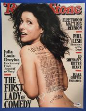 Julia Louis-Dreyfus Signed Auto Autograph 11x14 Photo PSA/DNA Z97810