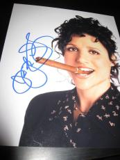 JULIA LOUIS DREYFUS SIGNED AUTOGRAPH 8x10 PHOTO SEINFELD PROMO IN PERSON COA X10