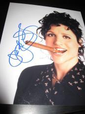 JULIA LOUIS DREYFUS SIGNED AUTOGRAPH 8x10 PHOTO SEINFELD PROMO IN PERSON COA X10