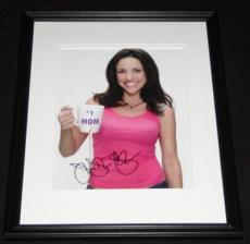 Julia Louis Dreyfus Signed Framed 8x10 Photo AW Seinfeld Veep B