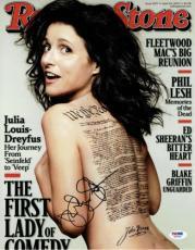 Julia Louis-Dreyfus Signed Rolling Stone Autographed 11x14 Photo PSA/DNA #X06784