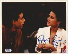 JULIA LOUIS-DREYFUS Signed SEINFELD 8 x10 PHOTO with PSA/DNA COA
