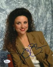 Julia Louis-Dreyfus Signed Seinfeld Autographed 8x10 Photo JSA COA #R98229