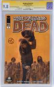 Julian Totino Tedesco The Walking Dead Autographed Varaint CGC Series Comic Book - PSA