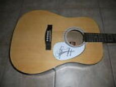 Julianne Hough Country Music Sexy Signed Autographed Acoustic Guitar