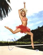 Julianne Hough Dancing With The Stars Signed 11X14 Photo PSA #AB62011