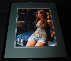 Julianne Hough Signed Framed 11x14 Photo Poster JSA Grease