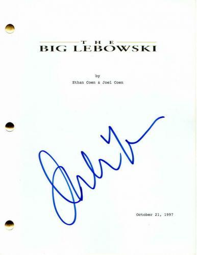 Julianne Moore Signed Autograph - The Big Lebowski Movie Script - Jeff Bridges