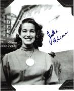 """JULIE ADAMS - Best Known as the Bathing Beauty KAY LAWRENCE in the 1954 Movie """"CREATURE from the BLACK LAGOON"""" Signed 8x10 B/W Photo"""